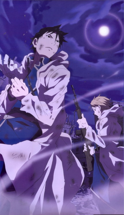 Fullmetal Alchemist - Roy Mustang & Riza Hawkeye