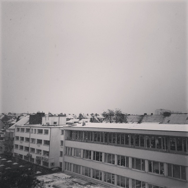 Der erste Schnee in diesem Jahr - from Instagram