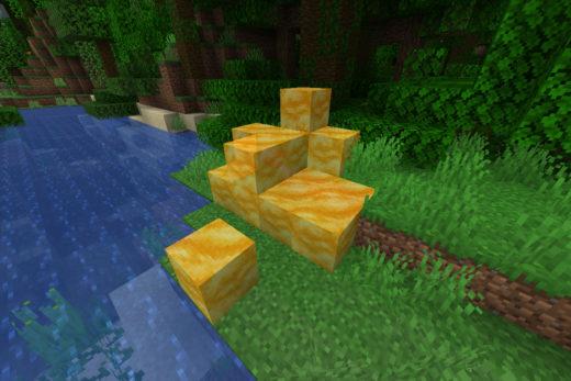 Honig Block (Source: minecraft.net)