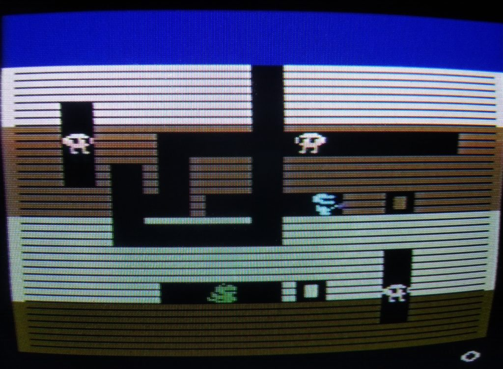 Dig Dug (Atari 2600 via CRT)