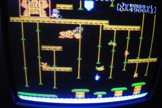 Donkey Kong Jr. (AV modded Famicom via CRT)