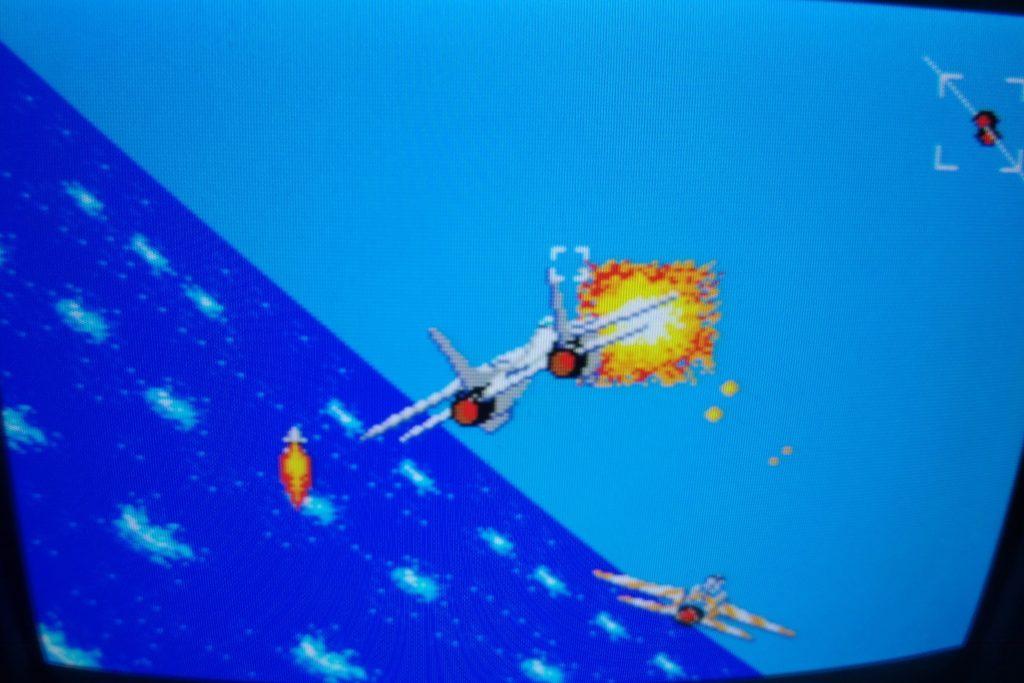 After Burner on a RGB + 60/50 Hz modded Sega Master System